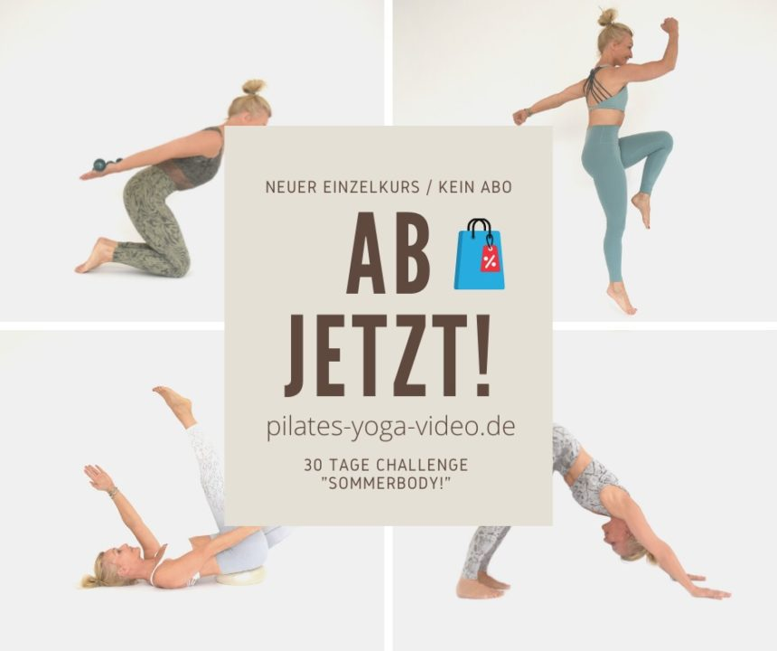 30 Tage Challenge Sommerbody