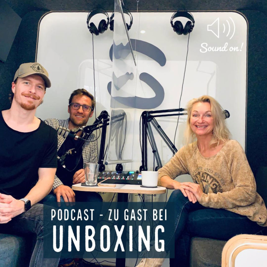 Podcast unboxing
